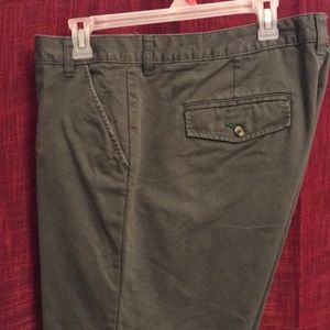 Old Navy olive colored, Capri slacks size 18